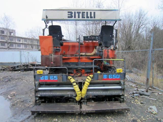 Bitelli. Асфальтоукладчик 650, 6 м