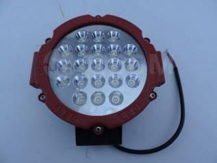 Фара светодиодная серии CH030-63W Универсальная красная 21 диод