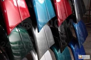 Бампер задний ВАЗ 2110 цвет Калифорнийский мак