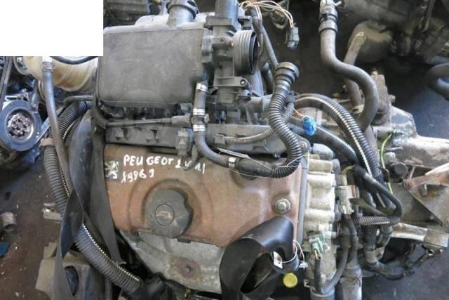 Двигатель в сборе. Peugeot 206, 2A/C, 2B, 2D, 2E/K DV4TD, DW10TD, EW10J4, TU1JP, TU3A, TU3JP, TU5JP4