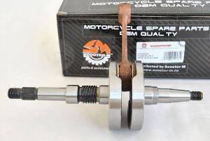 Вал коленчатый Honda Dio AF27 AF28 Tact AF30 AF31 AF51 14mm