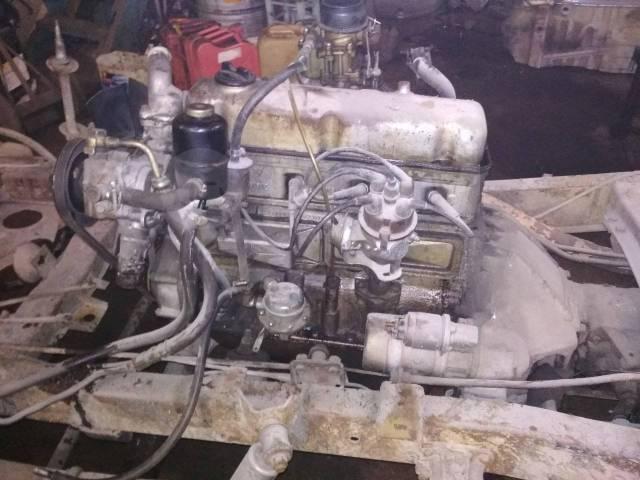 Двигатель в сборе. УАЗ Буханка