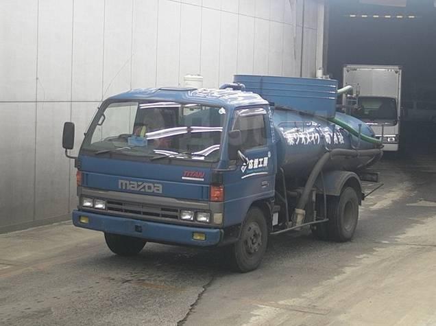 Mazda Titan. Ассенизатор Mazda Titin, 4 600куб. см. Под заказ