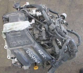 Продам двигатель на Nissan NOTE E12 HR12DE
