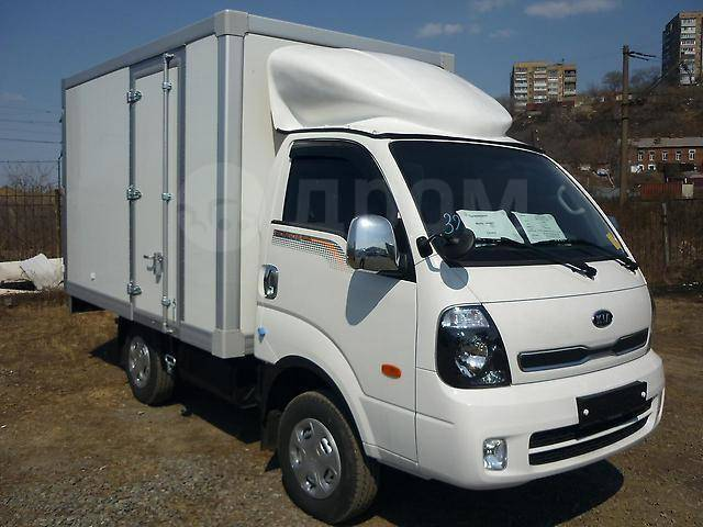 Kia Bongo. KIA Bongo 4WD, фургон 2017 г. в. Новый из Кореи., 2 500куб. см., 1 300кг., 4x4. Под заказ