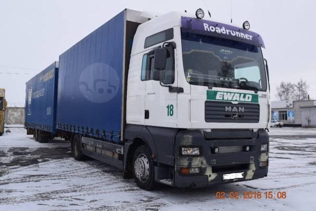 MAN TGA 18.430. Продаю грузовой автомобиль МАN TGA, 11 000куб. см., 20 000кг., 8x6