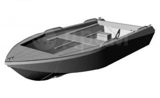 Алюминиевая лодка Север 4200, новая