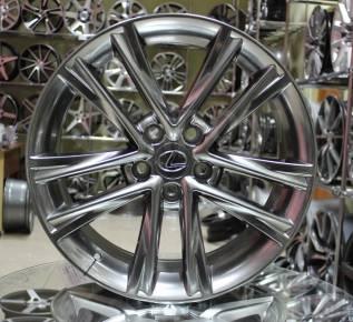 Новые диски R17 5*114.3 на Toyota Camry Corolla Rav4 Lexus Графит
