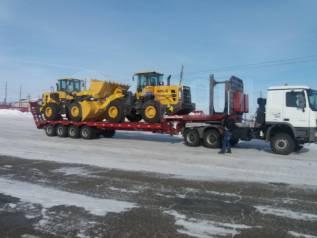 Тралы длинномер площадка для негабаритных грузов. 60 тонн. 6x6