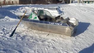 Лодка алюминиевая Тактика-390 DC от официального дилера в Новосибирске