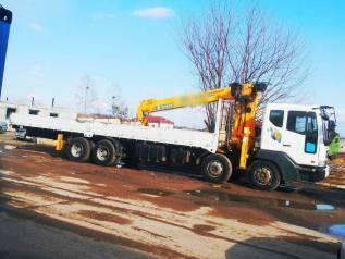 Бортовые грузовики с манипулятором 7 т (люлька стрела 20 метров)