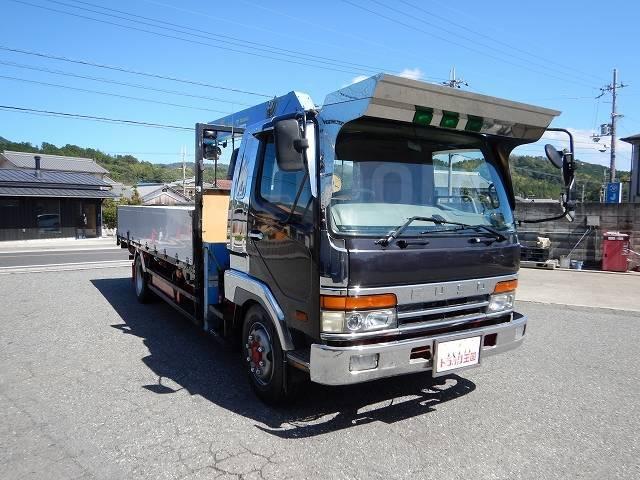 Mitsubishi Fuso. 8ми тонник 8 шпилек, R19.5 стрела 3 тонны. Борт 6м., 8 200куб. см., 8 000кг., 4x2. Под заказ