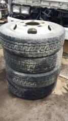 4 колеса 185/65R15LT на диска 5шпилек Toyota DYNA HINO Dutro