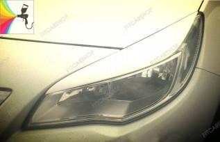 Реснички на фары для Opel Astra J 2009-2015 (опель астра джэй)