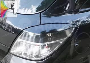 Реснички на задние фары для Opel Astra H GTC купэ (Опель Астра Н)