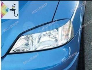 Накладка на фару. Opel Astra, 51, 52, 53, 54, 56, 57, 58, 59 C14NZ, C14SE, C18XEL, C20XE, X14NZ, X14XE, X16SZ, X16SZR, X16XEL, X17DT, X17DTL, X18XE