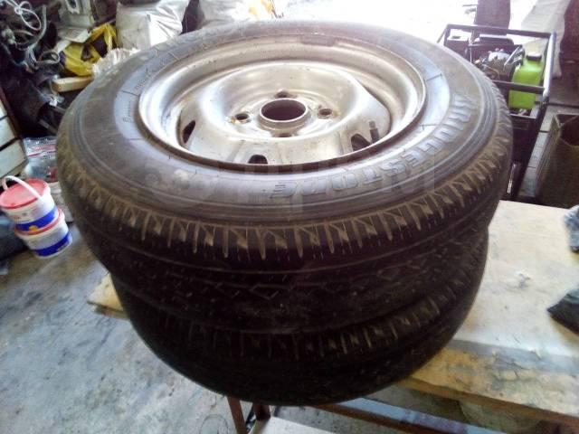 Bridgestone Duravis. летние, б/у, износ 50%