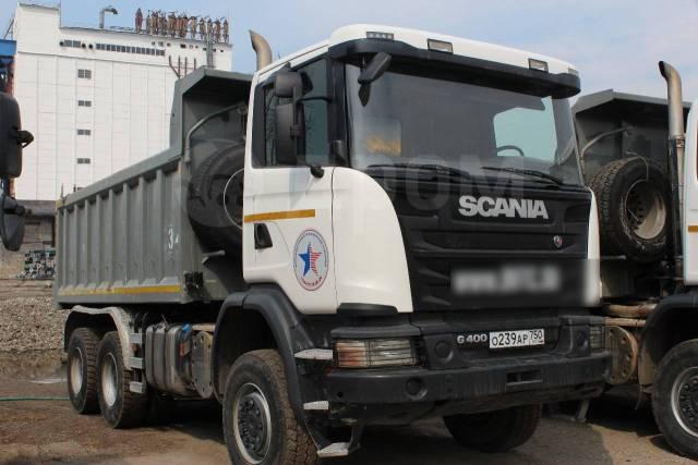 Scania. Продам ДВА самосвала Скания 6х6 G400, 12 740куб. см., 25 000кг., 6x6