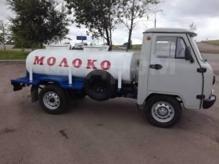 УАЗ-33036. Молоковоз/Водовоз, объем цистерны - 1500 л., 2 700куб. см., 1 498кг., 4x4