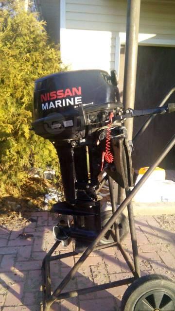 Nissan Marine. 15,00л.с., 2-тактный, бензиновый, нога S (381 мм), 2015 год