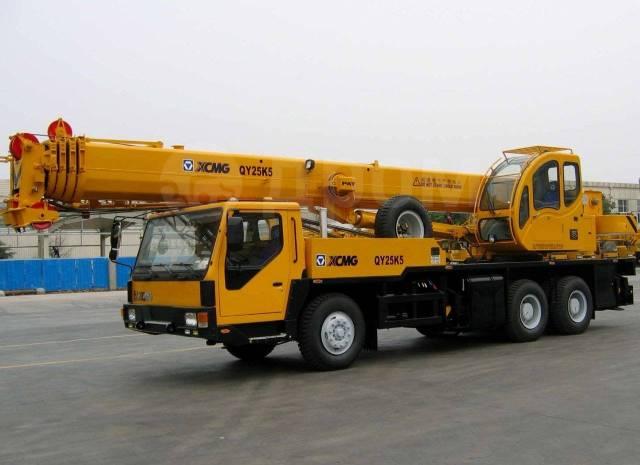 Xcmg. Автокран XCMG QY25V (25 тонн) стрела 39+8 метров, 8 960куб. см., 35,00м.