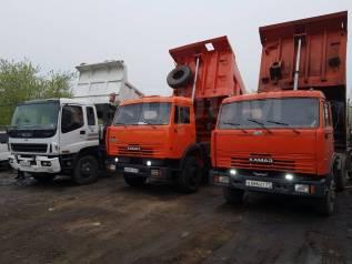 Вывоз мусора услуги самосвал вывоз грунта доставка щебня 16м3