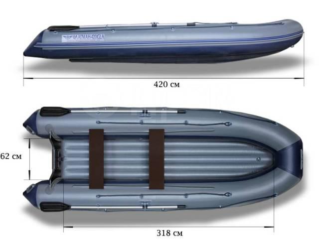 Флагман 420. 2020 год, длина 4,20м., двигатель подвесной, 20,00л.с., бензин. Под заказ