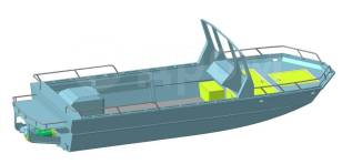 Водометный катер Predator 710