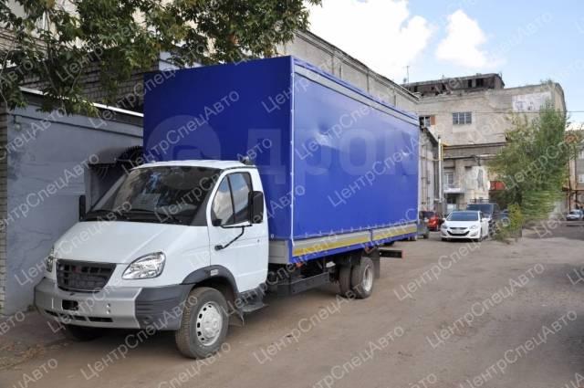 """ГАЗ 3310. Европлатформа ГАЗ-33106 """"Валдай"""" + прицеп двухосный, 4 430куб. см., 4 420кг., 4x2. Под заказ"""