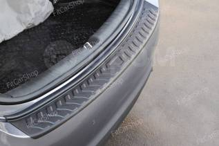 Накладка на задний бампер Hyundai Solaris седан 2017- Хендай Солярис