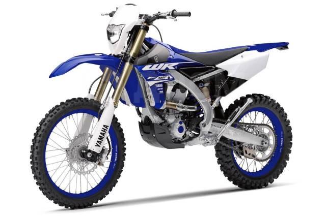 Yamaha WR 450F. 450куб. см., исправен, птс, без пробега