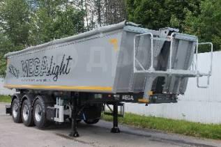 MEGA. Новый полуприцеп самосвальный алюминиевый Mega «Light» 28 м3, 34 500кг.