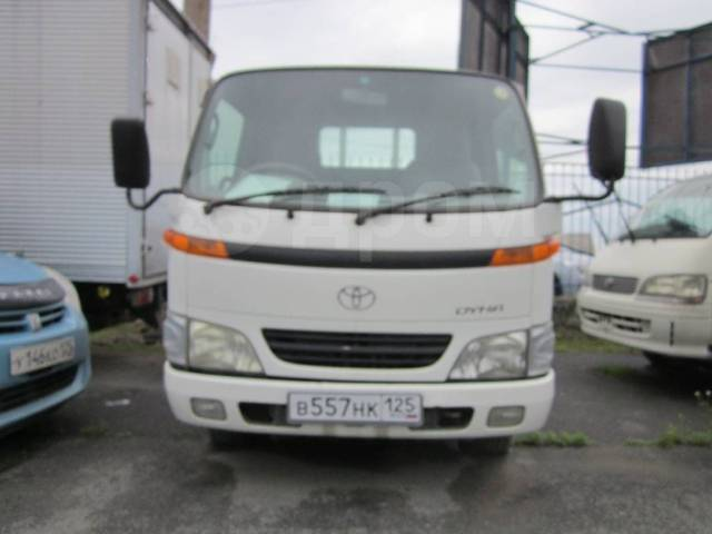 Toyota Dyna. Toyota DYNA 2002 г. 4WD, 4 600куб. см., 4x4