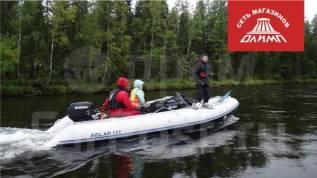 Лодка ПВХ надувная моторная Solar Максима 555 МК
