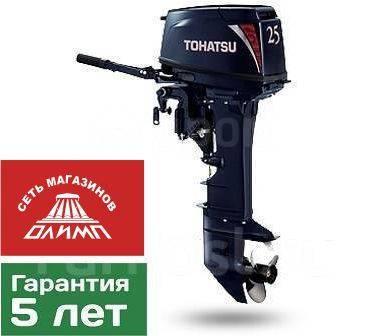Tohatsu. 25,00л.с., 2-тактный, бензиновый, нога U (762 мм), 2019 год. Под заказ