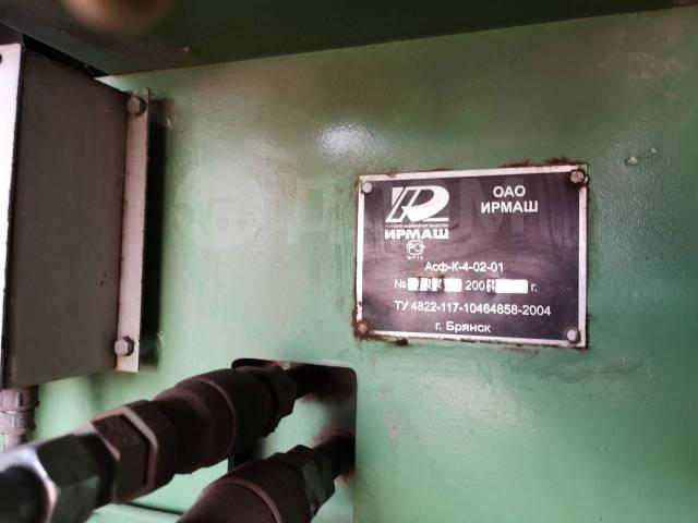 Ирмаш АСФ-К-4-02-01. Асфальтоукладчик