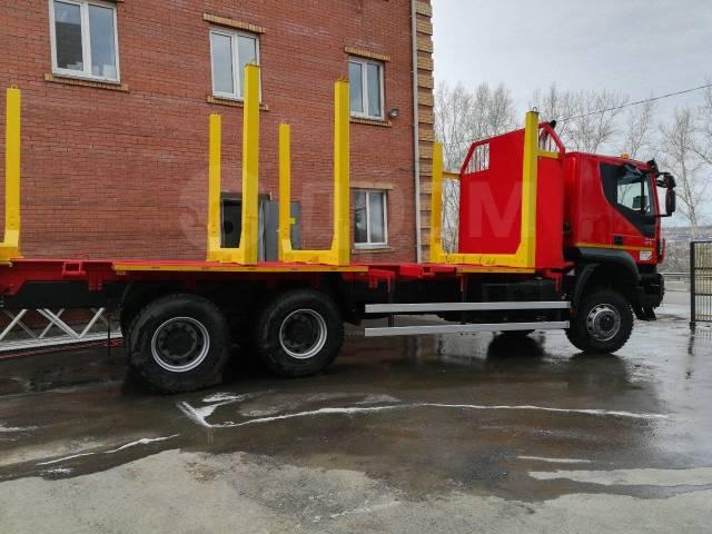 Iveco Trakker. / Ивеко АМТ 633920 сортиментовоз 2018 ГОД, 12 998куб. см., 25 000кг., 6x6