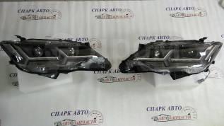 Фары тюнинг Toyota Camry, 50,55 2011-г в стиле Lexus