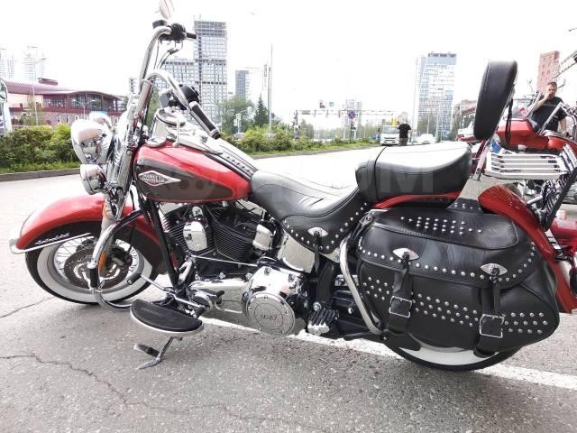 Harley-Davidson Heritage Softail Classic FLSTC. 1 690куб. см., исправен, птс, с пробегом
