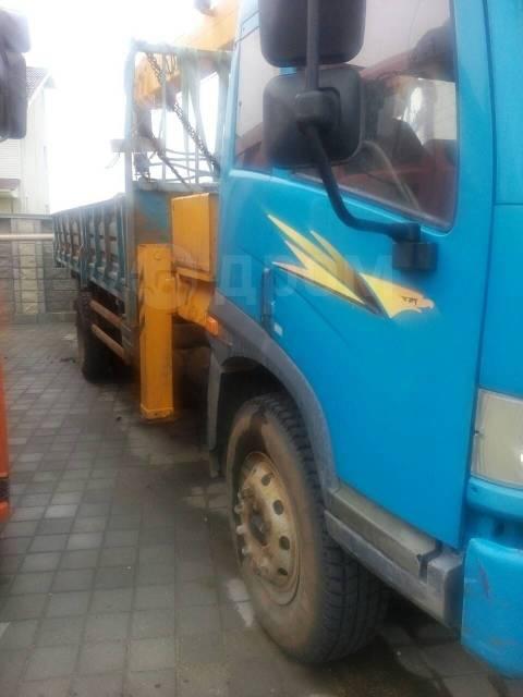 FAW. Продается грузовик с краном-манипулятором CA 5163jsq, 6 700куб. см., 4x2