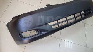 Бампер передний Toyota Camry 01-04 с отверстиями под туманки