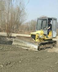 Бульдозер-планировщик 5 тонн. Доставка скальник, песок, щебень