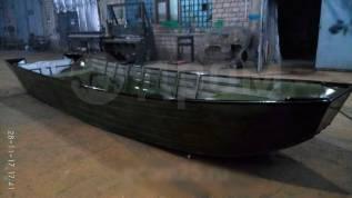 Лодка алюминиевая ульмага под мотор