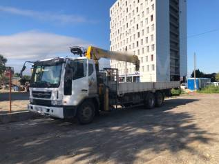 Услуги грузоперевозок 12 тонн, эвакуатор-манипулятор 5т кузов 9 метров.