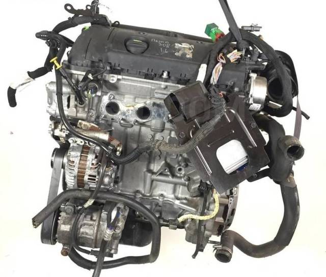 Двигатель в сборе. Citroen: C4, C4 Picasso, C3, Berlingo, C3 Picasso, C5 Peugeot: 308, 2008, 3008, 5008, 508, Partner, 208 EP6, EP6C, EP6CDT, EP6CDTM...