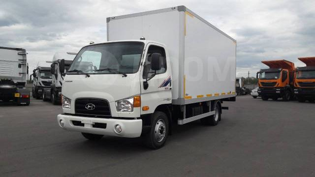 Hyundai HD78. Hyundai HD 65 Изотермический фургон, 3 900куб. см., 3 900кг., 4x2