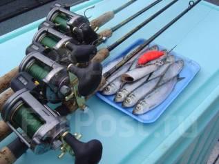 Морская рыбалка на скоростном катере группами от 2 до 8 человек