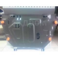 Защита картера и КПП Toyota Rav-4 IV без пыльника 2012- V2.0 сталь 2мм
