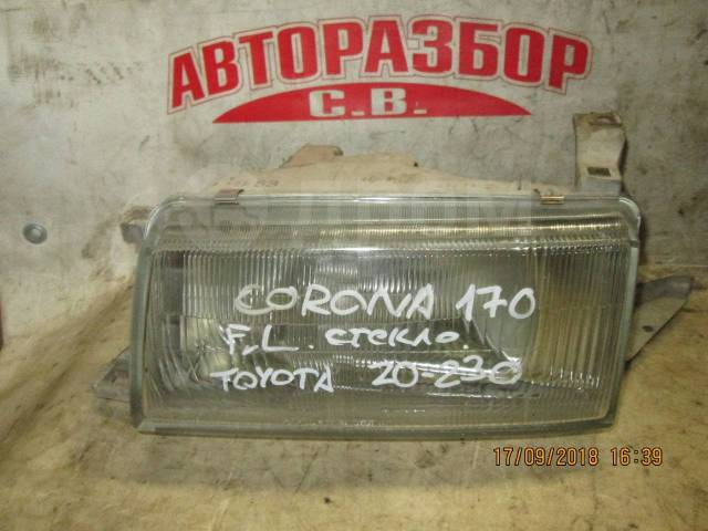 Фара. Toyota Corona, AT170, AT171, AT175, AT177, CT170, CT176, CT176V, CT177, ET176, ET176V, ST170, ST171