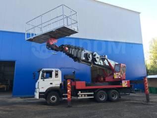 Elephant E-Sky. Автовышка Elephant E-SKY600, высота подъёма 58 метров., 12 920куб. см., 58,00м.